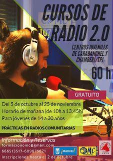 Gente de Villaverde: Cursos de Radio: Producciones Radiofónicas y Retra...