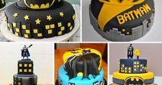 Bolos Decorados do Batman