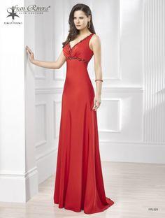 Vestidos de Fiesta Rojos Invierno 2017
