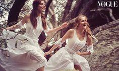 Teresa Palmer and Phoebe Tonkin star in Picnic at Hanging Rock shoot