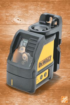 No work shop is complete without the DEWALT Cross Line Laser Level. Your dad won't be disappointed with a #FathersDay gift like this. Explore more at homedepot.ca.