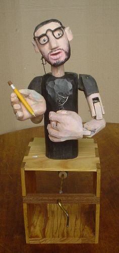 An automata of Paul Spooner  by Carlos Zapata
