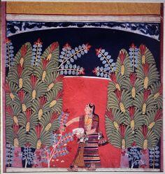 Ragamala, Malwa, Uttar Pradesh, India, ca. India Painting, Indian Folk Art, India Art, Hindu Deities, Miniatures, 17th Century, Figurative, Wall Murals, Illustration