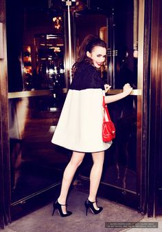 07. Glamour - Lily Collins-000013 Ellen von Unwerth Photoshoot for Glamour July 2013 - Lily Collins Gallery