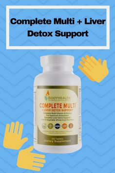 Sourced from the best whole-food ingredients and using the active forms of vitamins, Complete Multi + Liver Detox is optimized for maximum bioavailability and maximum effect. Liver Detox Drink, Best Liver Detox, Natural Liver Detox, Liver Detox Cleanse, Detox Drinks, Diet Detox, Detox Meals, Detox Foods, Tips And Tricks