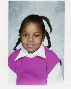 Janet Jackson at the age 6.