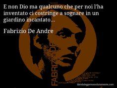 Cartolina con aforisma di Fabrizio De Andre (35)