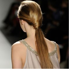 The irresistible ponytail, from Son Jung Wan, Bellasugar, source Getty Images: #hair #ponytail