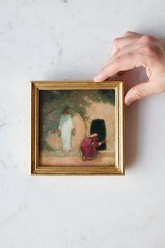 Why Weepest ThouJ. Kirk Richards - Heirloom Art Co. Jesus Stories, Laurel Leaves, Easter Art, Wow Art, Religious Art, Painting Inspiration, Framed Art, Art Decor, Illustration Art