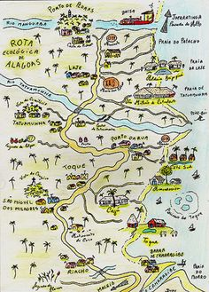 Mapa / Map of Sao Miguel - beaches Map, Travel, Trips, Dreams, Viajes, Road Maps, High Road, Couple, Valentines Day Weddings