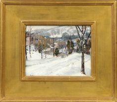 George Gardner Symons (American, 1863-1930) Winter : Lot 156