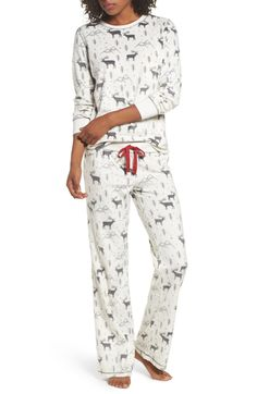 Main Image - PJ Salvage Polar Fleece Pajamas