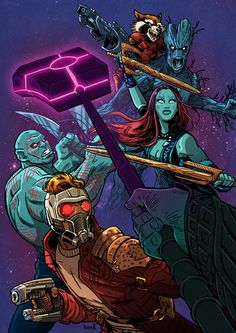 Guardians of the Galaxy, a pro-active force lead by Star-Lord attempting to…