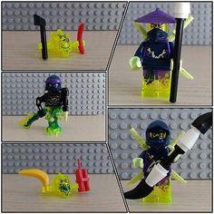 Lego-Ninjago-Yokai-Cowler-Wrayth-2x-Geist-Minifiguren-aus-70736-NEU