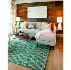 modern living room decorating ideas love the rug