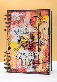 Maska Vanacker created this art journal for Avery Elle using our Elle's Alphas stamp set and Avery's Alphas dies.