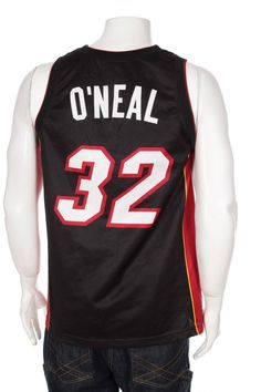 b7d793d5820 Rare Vintage Champion Shaquille O'Neal #32 Miami Heat NBA Jersey Size 40 (