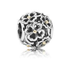 Pandora Charm Abendliches Blumenreich 791373 Sterling Silber