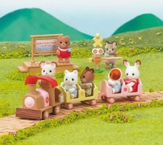SYLVANIAN Sylvanian Families Baby Train - 2639: Amazon.co.uk: Toys  Games