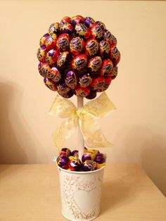 Cadburys Creme Eggs Sweet Tree...any colour trimming can be used x £25