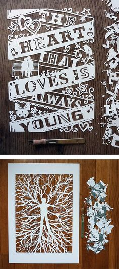 The art of cut paper.