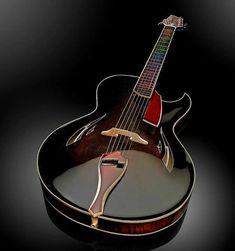 Jazz Guitar, Guitar Art, Music Guitar, Cool Guitar, Dj Music, Sheet Music, Custom Acoustic Guitars, Custom Electric Guitars, Custom Guitars
