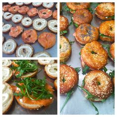 Maggioni party service - catering Milano - BAGELS HOMEMADE  - KOSHER STYLE