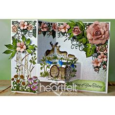 Heartfelt Creations - Thinking Of You Woodsy Floral Project