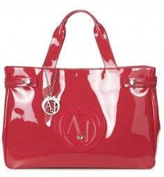 Handtasche in Rot Marken Outlet, Armani Jeans, Diaper Bag, Tote Bag, Bags, Fashion, Beauty Products, Handbags, Red