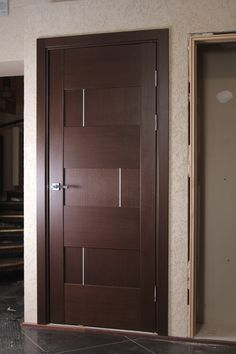 """Dominika"" Wenge Oak Modern Interior Door                                                                                                                                                                                 More"