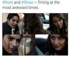 Root and Shaw <3