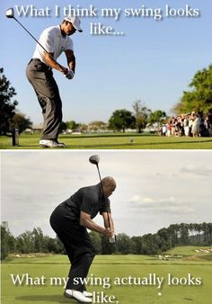 What I think my swing looks like. Funny Golf Joke! #Golf #LorisGolfShoppe
