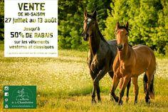 Venez en profiter dés demain ;-) Westerns, Horses, Animals, Western Wear, Classic, Animales, Animaux, Horse, Animais