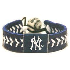 NY Yankees Baseball seam bracelet @Lacy Beckstrom Beckstrom Beckstrom O