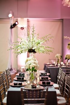 love the chairs… the decorum and the table setting… lovely just lovely…. photographer: Nadia D. photography