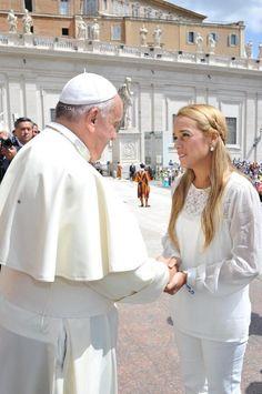 Hoy hable con el Papa Francisco de lo que estamos viviendo en Venezuela.