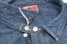 Love these mens fashion for work Jeans Denim, Raw Denim, Denim Shirts, Mens Vintage Shirts, Latest Mens Fashion, Work Shirts, Casual Shirts For Men, Shirt Designs, Menswear