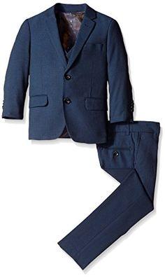Isaac Mizrahi Big Boys' 3 Piece. Square Weave Suit, Navy, 8 Isaac Mizrahi http://www.amazon.com/dp/B013TCHPYO/ref=cm_sw_r_pi_dp_xvwPwb1YC2DHS