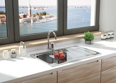 Get These Top Trending one bowl corner kitchen sink to inspire you Stainless Steel Double Sink, Undermount Stainless Steel Sink, Undermount Sink, Sink Faucets, Stainless Kitchen, Corner Sink Kitchen, Kitchen Sink Design, Kitchen Sinks, Hacienda Kitchen