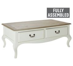 Buy Heart Of House Harper 2 Drawer Coffee Table