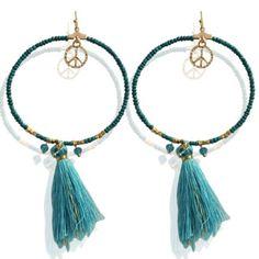 Earrings fibe turquoise 4253 800x800