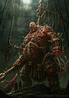 Undead Dungeon Master by VegasMike.deviantart.com on @deviantART