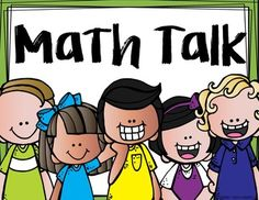 15 math talk posters to help student with math discussions and group work.