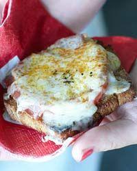 Tomato, Prosciutto and Gruyère Sandwiches