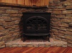 Corner Wood Stove Design Ideas, Pictures, Remodel And Decor