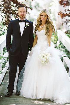 Celebrity Weddings 2013 - Celebrity Wedding Gowns   Wedding Planning, Ideas & Etiquette   Bridal Guide Magazine