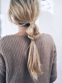 Hair Inspiration: Half + Half Braided Ponytail | Bloglovin' #hairstyles #ponytail