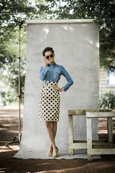 Dot Skirt | Aussie Afternoon Collection by Shabby Apple