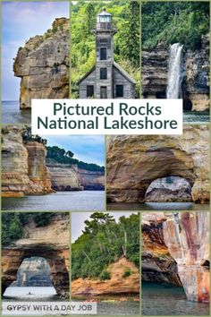 Stunning scenery and adventure in the Midwest! Visit Pictured Rocks National Lakeshore for both! Plan with our Pictured Rocks trip planner. Michigan Vacations, Michigan Travel, Midwest Vacations, Travel Oklahoma, Canada Travel, Travel Usa, Italy Travel, Travel Planner, Trip Planner
