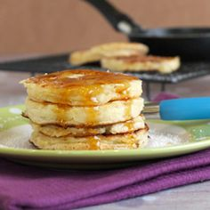 Gingerbread pancakes, Parma and Maple syrup on Pinterest